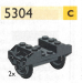 LEGO® set: 5304 - Two wheelsets