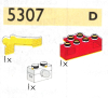 LEGO® set: 5307 - Head light brick