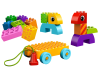 LEGO® set: 10554 - Toddler Build and Pull Along