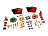 LEGO® set: 9591 - Weapon pack