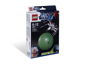 LEGO® set: 9677 - X-wing Starfighter and Yavin 4 - main image