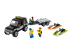 LEGO® set: 60058 - SUV with Watercraft