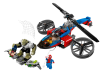 LEGO® set: 76016 - Spider-Helicopter Rescue