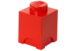 LEGO® set: 5003566 - 1 stud Red Storage Brick