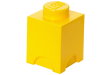 LEGO® set: 5003567 - 1 stud Yellow Storage Brick