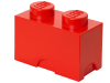 LEGO® set: 5003569 - 2 stud Red Storage Brick