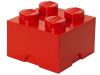 LEGO® set: 5003575 - 2x2 stud Red Storage Brick