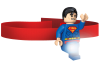 LEGO® set: 5003582 - Superman Head Lamp