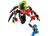 LEGO® set: 44024 - TUNNELER Beast vs. SURGE
