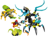 LEGO® set: 44029 - QUEEN Beast vs. FURNO, EVO & STORMER