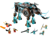 LEGO® set: 70145 - Maula's Ice Mammoth Stomper