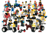 LEGO® set: 9247 - Community Workers