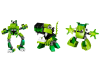 LEGO® set: 5003814 -  LEGO® Mixels™ Series 3: Green Collection