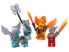 LEGO® set: 850913 - Fire and Ice Minifigure Accessory Set