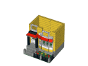 little-house-victorian.ldr - Little house victorian - LEGO® building instruction step