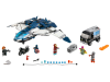LEGO® set: 76032 - The Avengers Quinjet City Chase