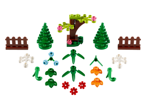 LEGO® set: 40376 - Botanical Accessories - main image