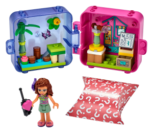 LEGO® set: 41436 - Olivia's Jungle Play Cube - main image