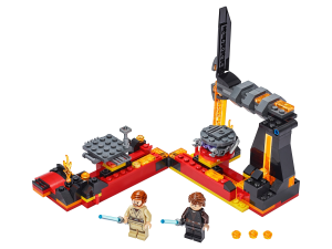 LEGO® set: 75269 - Duel on Mustafar? - main image