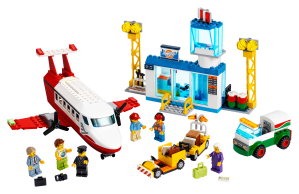 LEGO® set: 60261 - Central Airport - main image