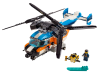 LEGO® set: 31096 - Twin-Rotor Helicopter