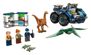 LEGO® set: 75940 - Gallimimus and Pteranodon Breakout - main image