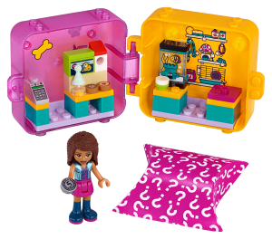 LEGO® set: 41405 - Andrea's Shopping Play Cube - main image
